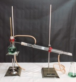 Aparelho de destilação simples