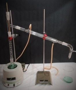 Aparelho de destilação fracionada