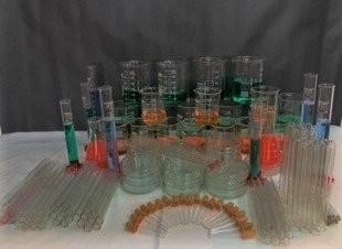 Conjunto de vidrarias